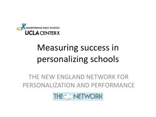 Measuring success in personalizing schools