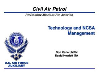 Technology and NCSA Management