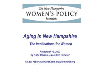 As NH ages, there will a relatively smaller pool of experienced, qualified workers