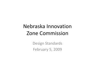 Nebraska Innovation Zone Commission