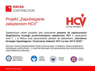 Projekt �Zapobieganie zaka?eniom HCV�