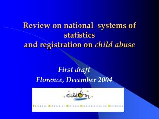 Review on national  systems of statistics and registration on  child abuse