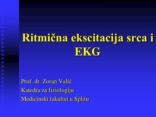 Ritmična ekscitacija srca i EKG
