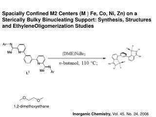Inorganic Chemistry,  Vol. 45, No. 24, 2006