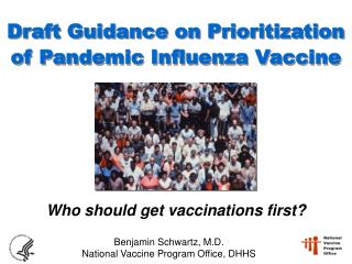 Draft Guidance on Prioritization of Pandemic Influenza Vaccine