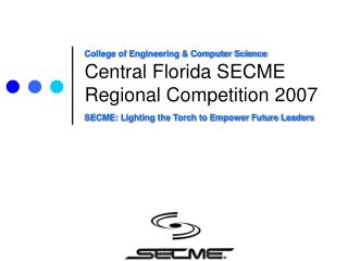 Central Florida SECME Regional Competition 2007