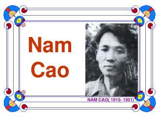 Nam Cao