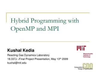 MPI  OpenMP