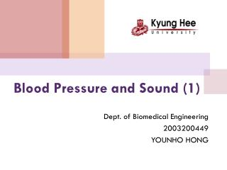Blood Pressure and Sound (1)