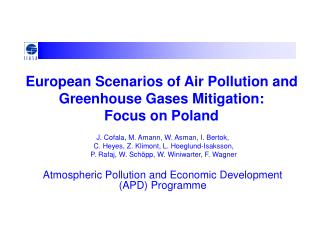 European Scenarios of Air Pollution and Greenhouse Gases Mitigation: Focus on Poland