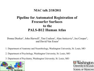 Pipeline for Automated Registration of  Freesurfer Surfaces  to the  PALS-B12 Human Atlas