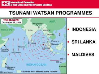 TSUNAMI WATSAN PROGRAMMES