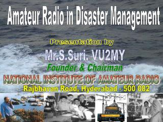 Amateur Radio in Disaster Management