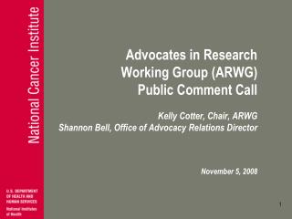 Advocates in Research