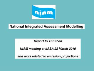 National Integrated Assessment Modelling