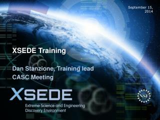 XSEDE Training