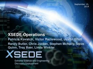 XSEDE Operations