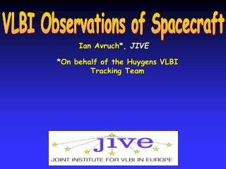 VLBI Observations of Spacecraft