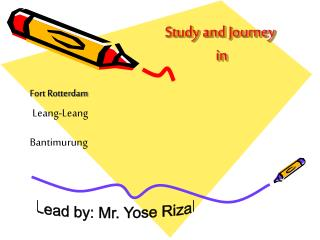 Study and Journey  in