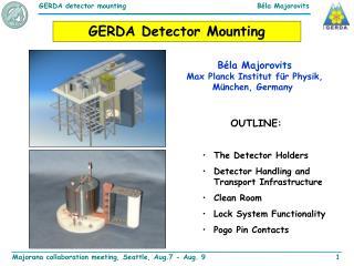 GERDA Detector Mounting