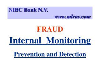 NIBC Bank N.V.                                   mlros