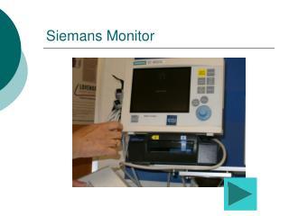 Siemans Monitor