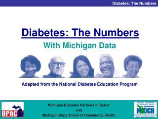 Diabetes: The Numbers