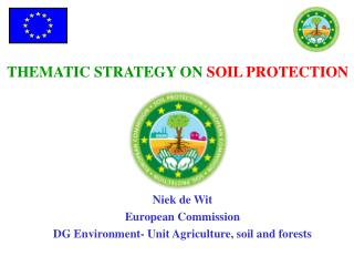THEMATIC STRATEGY ON  SOIL PROTECTION