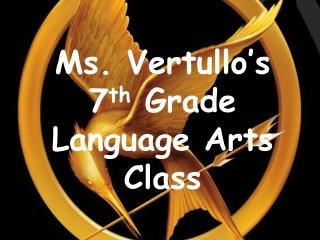 Ms. Vertullo s 6th Grade Language Arts Class