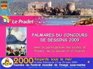 PALMARES DU CONCOURS  DE DESSINS 2009