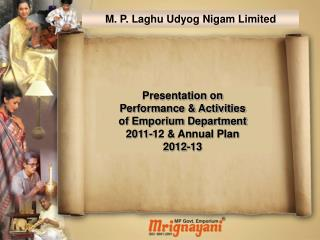 M. P. Laghu Udyog Nigam Limited