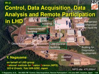 Control, Data Acquisition, Data Analysis and Remote Participation