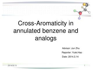 Cross-Aromaticity in annulated benzene and analogs