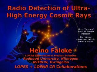Radio Detection of Ultra-High Energy Cosmic Rays