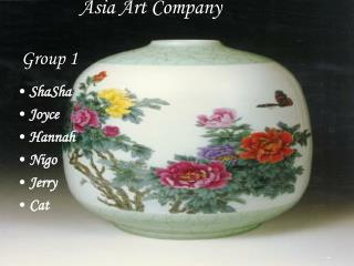 Asia Art Company Group 1