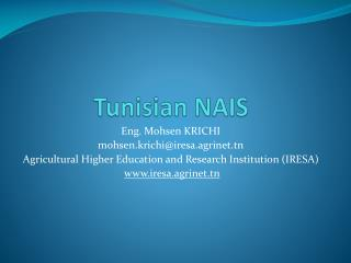 Tunisian  NAIS