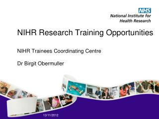 NIHR Research Training Opportunities