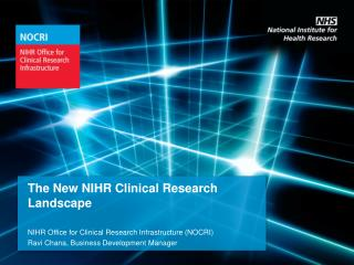 The New NIHR Clinical Research Landscape