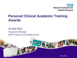 Personal Clinical Academic Training Awards