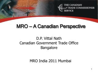 MRO   A Canadian Perspective