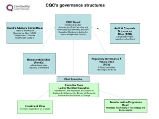 Audit & Corporate Governance  Cttee (ACG) A Board committee  reporting to the Board