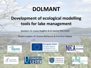 DOLMANT  Development of ecological modelling tools for lake management