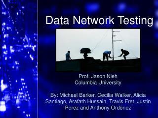 Data Network Testing