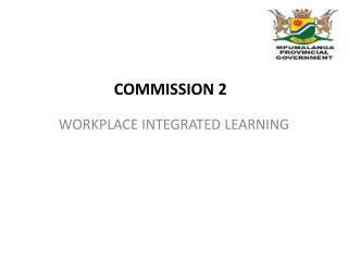 WORKPLACE INTEGRATED LEARNING