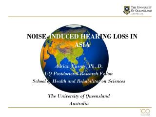 NOISE- INDUCED HEAR ING LOSS IN  ASIA