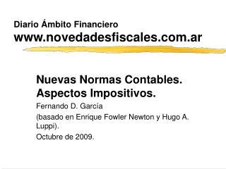 Diario �mbito Financiero novedadesfiscales.ar
