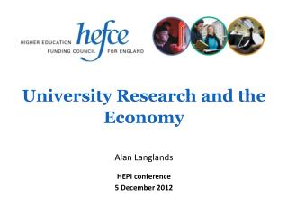 University Research and the Economy