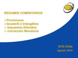 SVS-Chile Agosto 2010