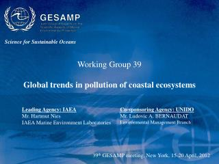 Science for Sustainable Oceans