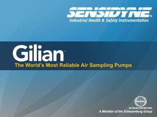 The World's Most Reliable Air Sampling Pumps